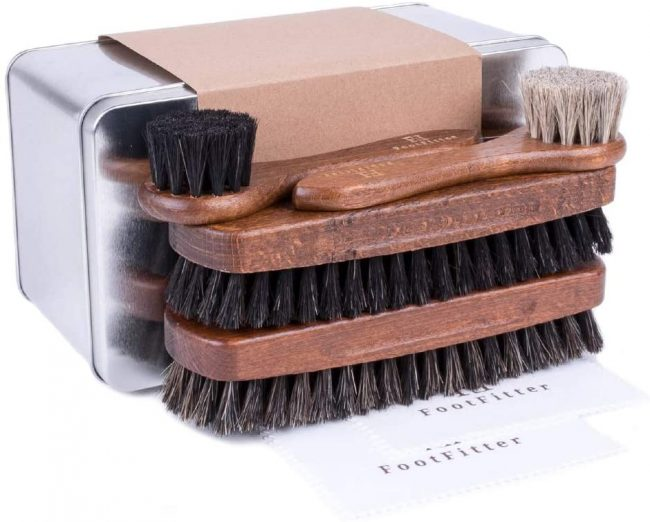 FootFitter Essential Shoe Brush Set Review