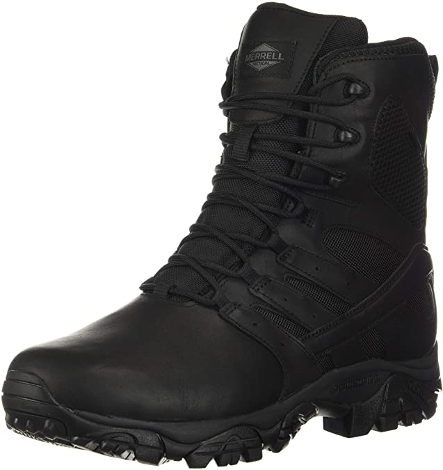 Merrell Work Moab 2 8″ Tactical Response Waterproof Boots For Security Guards