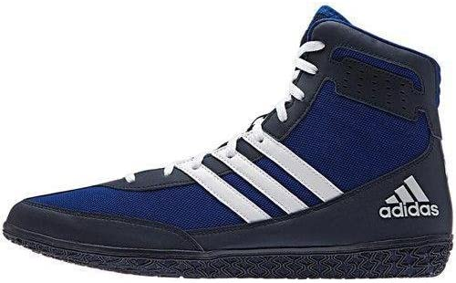 Adidas Mat Wizard Black or Solar Yellow Wrestling Shoes 11.5.