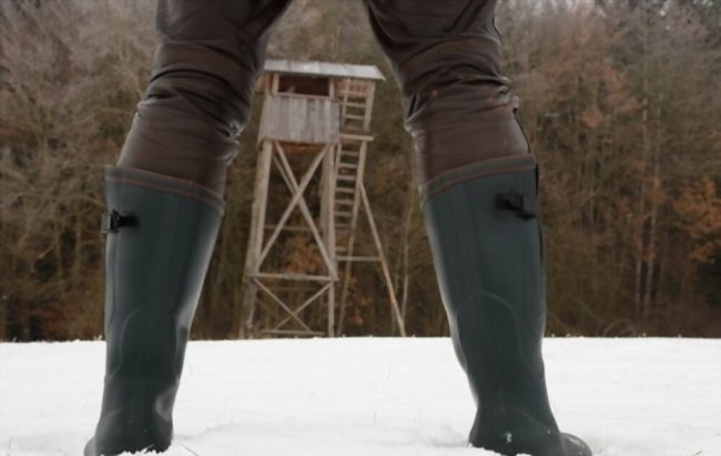 Are rubber boots best for hunting