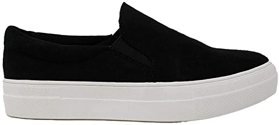 Soda Tracer Women's Perforated Slip-On Sneakers