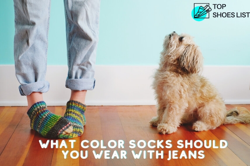 What Color Socks Should You Wear With Jeans